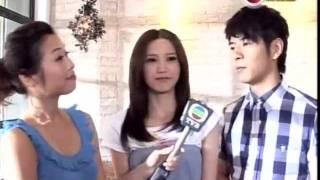 2011 11 01 娛樂新聞報道 吳若希拍攝歌曲知己mv時接受訪問