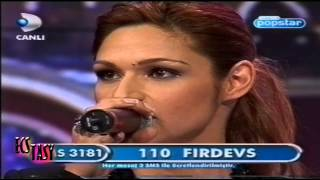 İlk Popstar: Firdevs, Bayhan, Abidin, Selçuk, Barış, Aydan, Eser, Elena