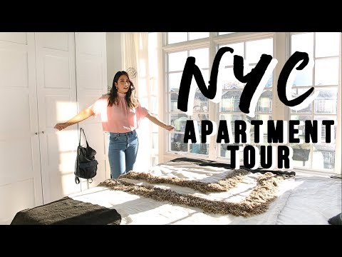 NYC APARTMENT TOUR 2018! ($2500 Per Month)