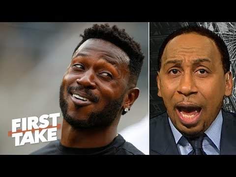 Antonio Brown lowered his trade value by 'opening his mouth' - Stephen A. | First Take