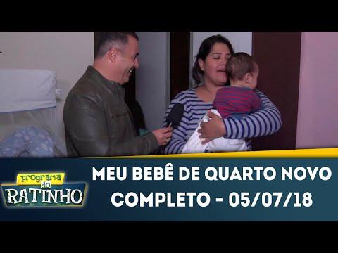 Meu Bebê De Quarto Novo - Completo | Programa Do Ratinho (05/07/2018)