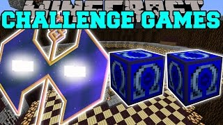 Minecraft: HAUNTED HEAVENLY AXE CHALLENGE GAMES - Lucky Block Mod - Modded Mini-Game