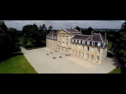 Vidéo drone  Châteaux et belles demeures