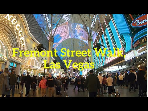 Fremont Street Experience nighttime walk and light show, Las Vegas 2019. Shot with Canon G7X Mark