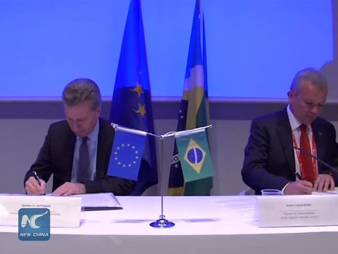 EU, Brazil to work together on 5G mobile technology
