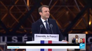 Emmanuel Macron inaugurated president  an outstanding trajectory