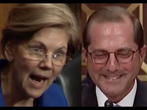 """TOM PRICE LIED!!! ARE YOU LYING??!!"" Elizabeth Warren DESTROYS Trump HHS Nominee Alex Azar"