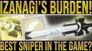 Destiny 2. IZANAGI'S BURDEN EXOTIC SNIPER REVIEW! Best Sniper In The Game? Black Armory Exotic.