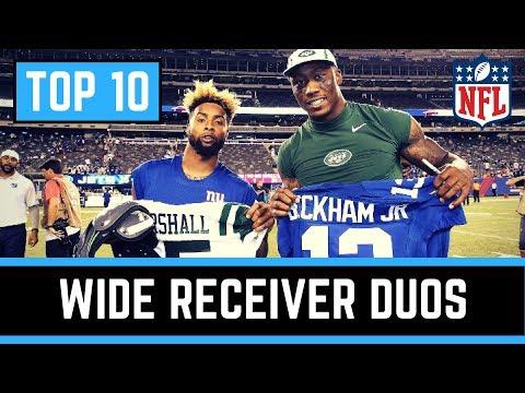Top 10 NFL Wide Receiver Duos 2017