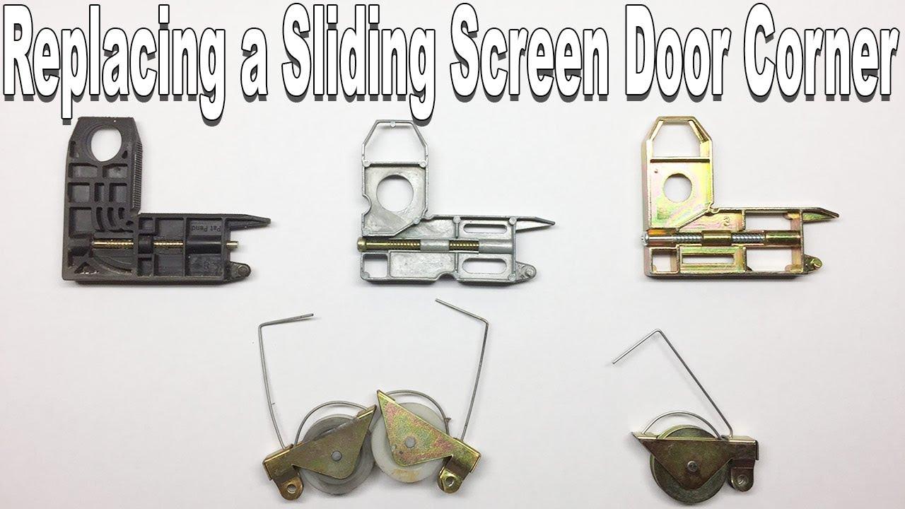 Installing Prime Lines B 569 Sliding Screen Door Corners Youtube