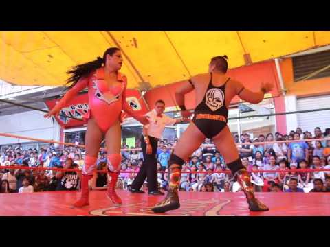 Golden, Miss Gaviota y Angeluz Fly vs Drako, Juana la Loca y Angeluz