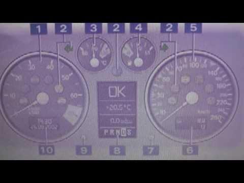 Audi TT Mk1 Dash Warning Light Symbol Lamps   What They Mean