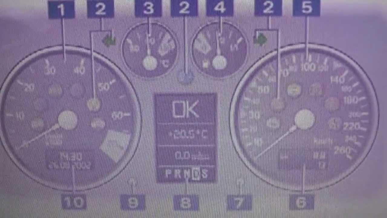 Audi TT Mk1 Dash Warning Light Symbol Lamps What They Mean - YouTube   Audi Tt Dash Lights      YouTube