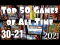 Gambar cover Top 50 Games of All Time 30-21