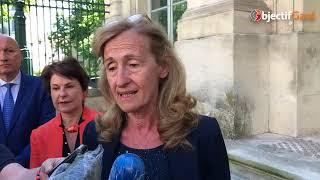 EN IMAGES La visite de Nicole Belloubet, ministre de la Justice, à Nîmes – Objectif Gard - 25/05/20