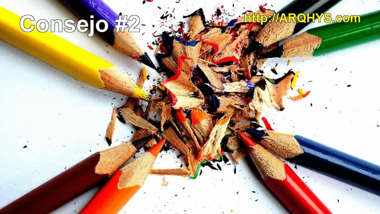 3 consejos para pintar mejor con lápices de colores - YouTube