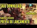 SAIU DOWNLOAD! MMORPG ERA OF LEGENDS VERSAO INGLES SEA SERVER | ESTILO WOW GAMEPLAY BR EXCLUSIVA MT4