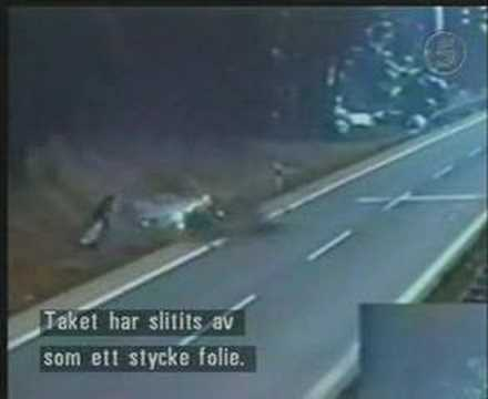 Crash - Mercedes-Benz High Speed Crash at the Autobahn