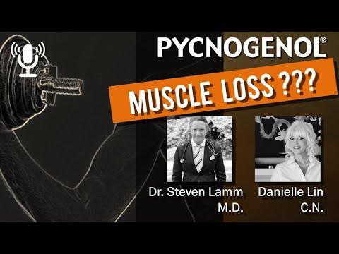 Pycnogenol® French maritime pine bark extract for muscle loss