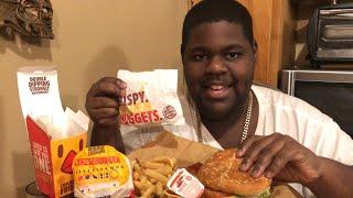 18. Burger King Mukbang