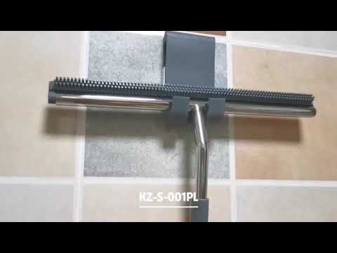Promote stainless steel shower squeegee kit for window glass mirror clean
