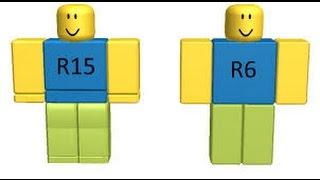 R15 VS R6 / / Roblox