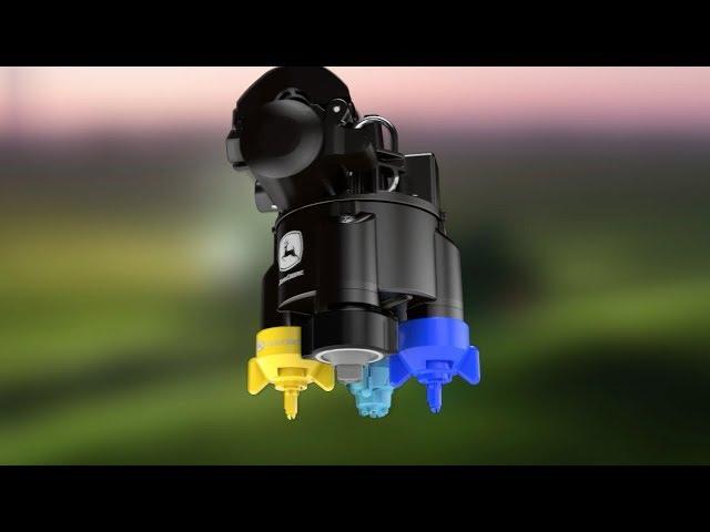 John Deere - R4140i / R4150i - PowrSpray: Neuartige Düsensteuerung