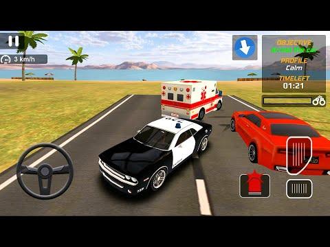 Машинки для детей | Мультики для детей - Полицейская машинка | Police Car Driving Game