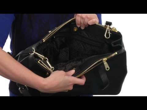 DKNY Bryant Park - Saffiano Leather Large Double Zip Shopper w/ Det SS  SKU:8513959