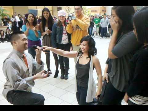 Flash Mob Proposal Arden Fair Mall Youtube