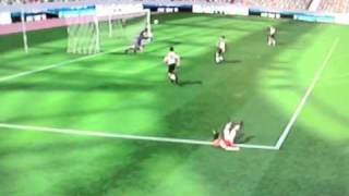 TOP 10 goals on FIFA 11 (Wii)