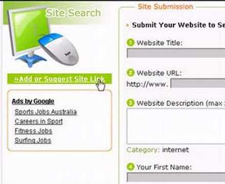 Submit Your Website: Free Web Directory Link Submission Tool