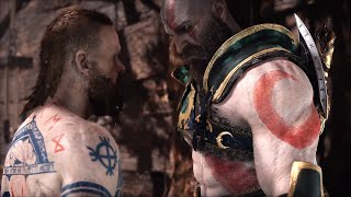 God of War 4 NG+ BALDUR Boss vs Blades of Chaos (GoW 2018 New Game+) PS4 Pro