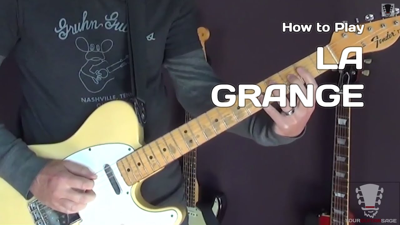 How to play la grange by zz top guitar lesson youtube - How to play la grange on acoustic guitar ...