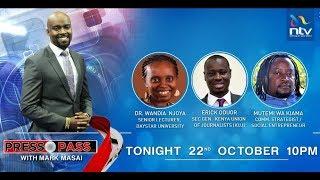 LIVE: Watch #PressPass with Mark Masai