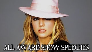 ALL Award Show Speeches By Britney Spears