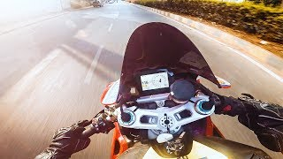 DUCATI PANIGALE V4 on indian Streets | Raw POV