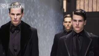 Elegant Corneliani Man with a Contemporary Touch for Fall 2012 - Designer at Work | FashionTV FMEN