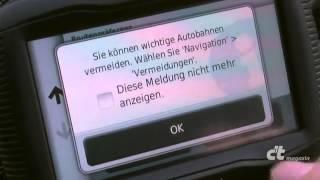 Navigation: Manche mögens kurvig --Garmin Zumo 390 LM