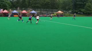 Kate Blaisdell scores gaming winning goal @ the College Connection Under Armour Select Game!