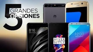 TOP 5 MEJORES TELÉFONOS GAMA ALTA CALIDAD/PRECIO