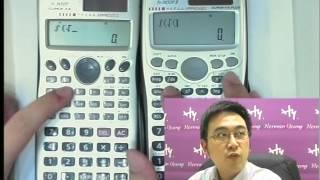 Casio 新型號計數機 fx-50FH II 及 fx-3650P II 大測試