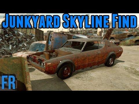 Car Mechanic Simulator 2018 Junkyard Skyline Find