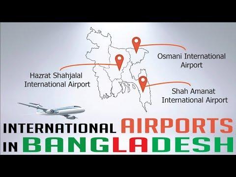 INTERNATIONAL AIRPORTS IN BANGLADESH - Travel Info