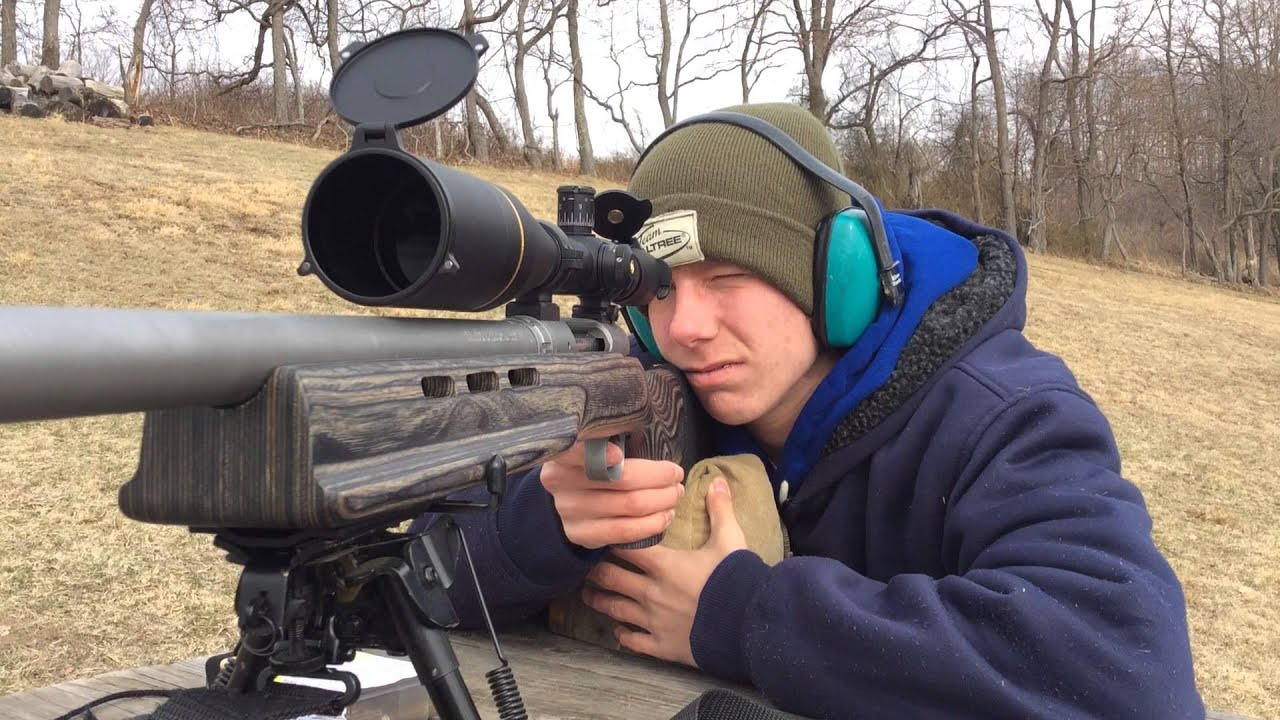 bolt image on improved custom bench mauser acti style model caliber action rest rifle built