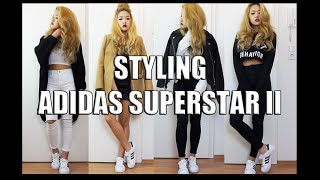 STYLING ADIDAS SUPERSTAR II | arrestthisgal