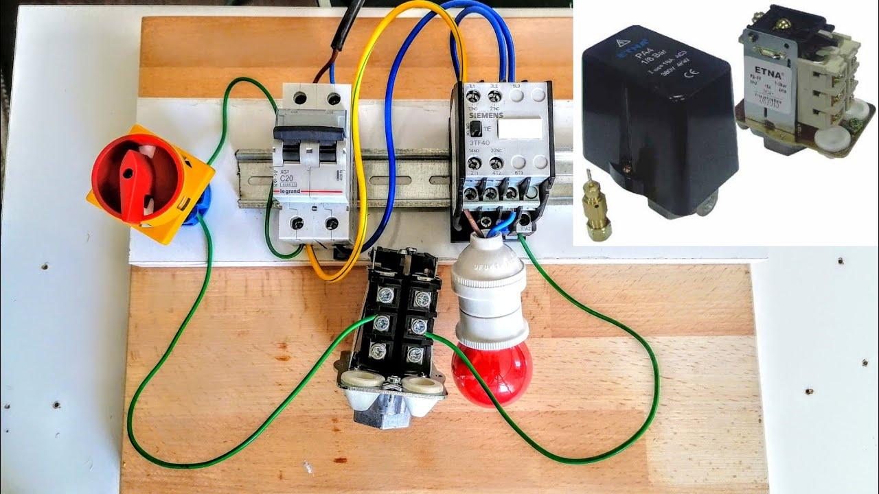 teknik .basınç şalteri ayarı nasıl yapılır? ( hidrofor duruk şalter ayarı nasıl yapılır.