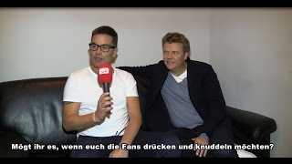 Caught in the Act: Interview mit Eloy + Bastian
