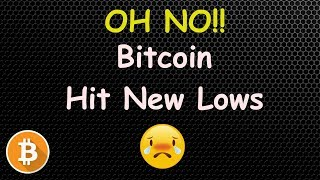WTF! BITCOIN HIT NEW LOWS AGAIN! 🔴 LIVE | CRYPTO NEWS