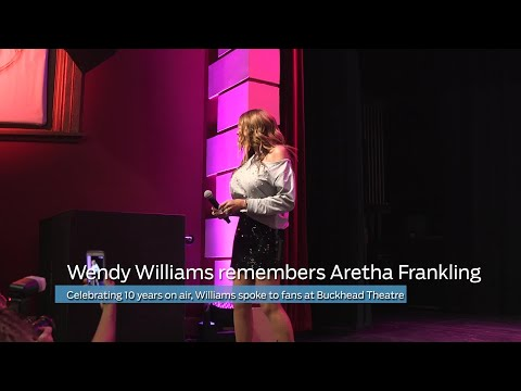 WATCH: Wendy Williams remembers Aretha Franklin